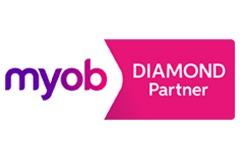 MYOB Diamond Logo
